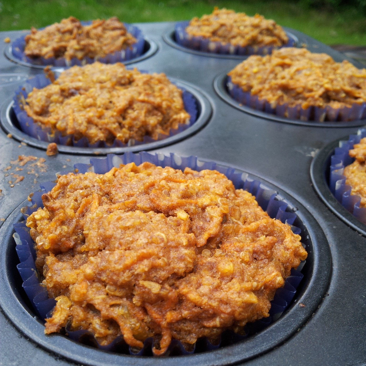 Healthy Carrot Cake Muffins Uk