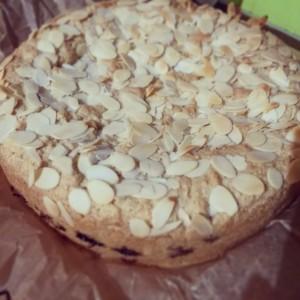 Blackberry-Almond Cake